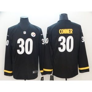 Pittsburgh Steelers James Conner LongSleeve Jersey